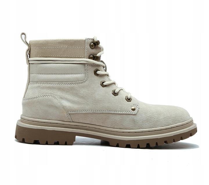 Caterpillar Buty CAT Tooling Boots High White 9814467369 Buty Męskie Sportowe YA OYDRYA-7
