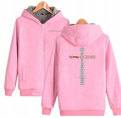 Warm KPOP Hooded T-shirt GOT7 UNISEX 3XL 46 9658269373 Odzież Damska Topy ZN EZKWZN-3