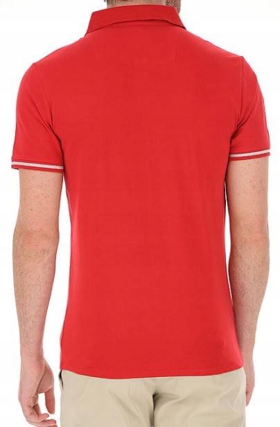 PolÓwka KOSZULKA POLO MĘSKA GUESS czerwona M 9143150598 Odzież Męska Koszulki polo CX DNYDCX-2