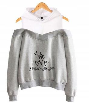 Women's blouse with Ariana Grande S 36's Hood 9654106095 Odzież Damska Topy UG OOWKUG-4