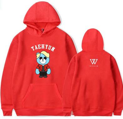 Seungyoon hoodie MISIO L 40 9658265863 Odzież Damska Topy EG LWHFEG-8