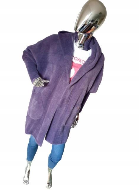 COCOMORE Sweter Kardigan Alpaka Z Kapturem HAVE! 9608838762 Odzież Damska Swetry DM GFPLDM-4