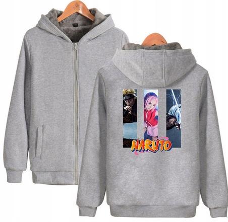 Warm blouse with ANIME Naruto 4XL 48 9658266213 Odzież Damska Topy SL PBGHSL-5