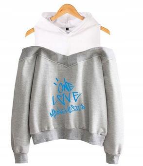 Women's blouse with Ariana Grande S 36's Hood 9654104017 Odzież Damska Topy FP HHVWFP-3