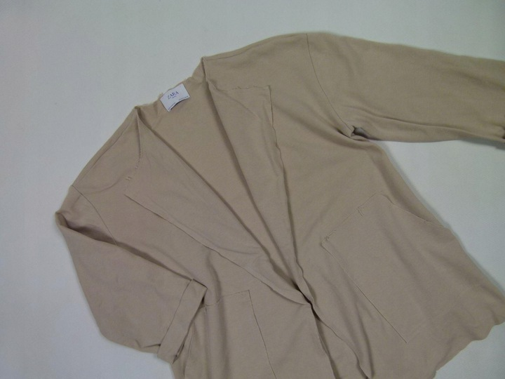 ZARA Basic blezer wdzianko vintage / S mex.26 9828333338 Odzież Damska Swetry NP NTCDNP-3