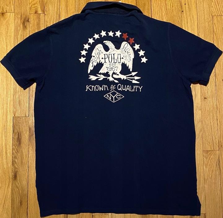 POLO RALPH LAUREN Polowka XL USA100%Org 9337821903 Odzież Męska Koszulki polo RK JMOMRK-7