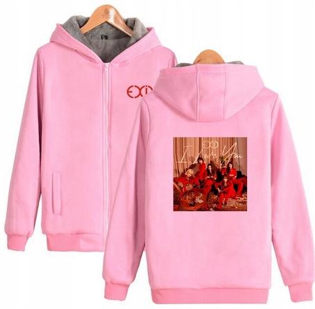 Warm blouse with EXID Hood 2019 XL 42 9658266742 Odzież Damska Topy JJ NEWHJJ-1