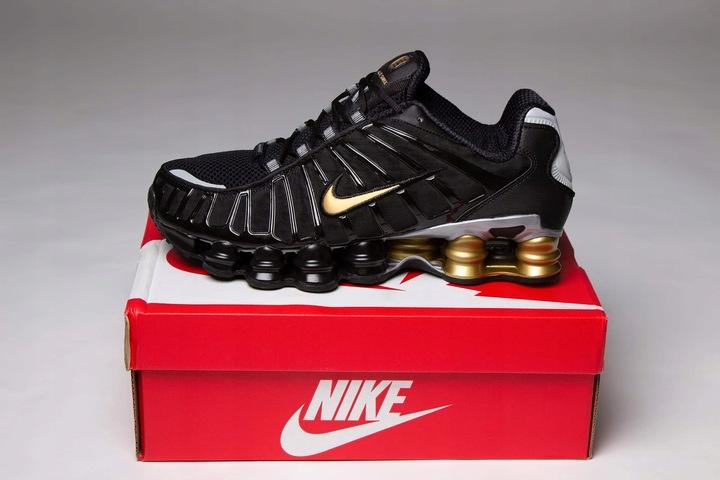 Buty Nike Shox TL black/gold Nowosc 2020 9620790967 Buty Męskie Sportowe NR WJHJNR-2