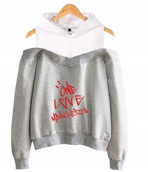 Women's blouse with Ariana Grande L 40's Hood 9654102669 Odzież Damska Topy FD QZXZFD-3
