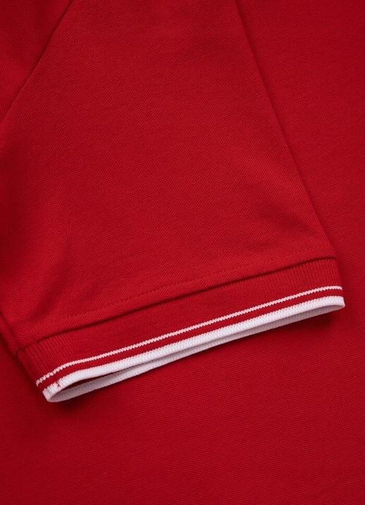 Koszulka Polo polÓwka PIT BULL regular LOGO STRIPE 9544048905 Odzież Męska Koszulki polo HX NVBIHX-9