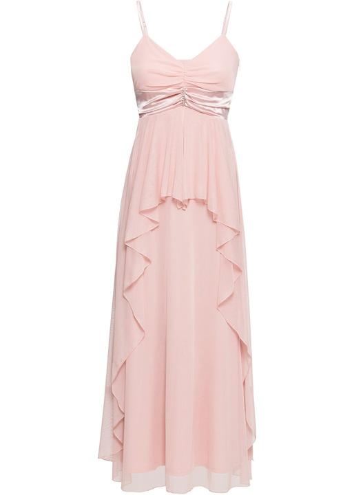 ZE15 BPC Długa sukienka z broszką WESELE r.46 9096387721 Odzież Damska Sukienki wieczorowe ZN HWLUZN-9