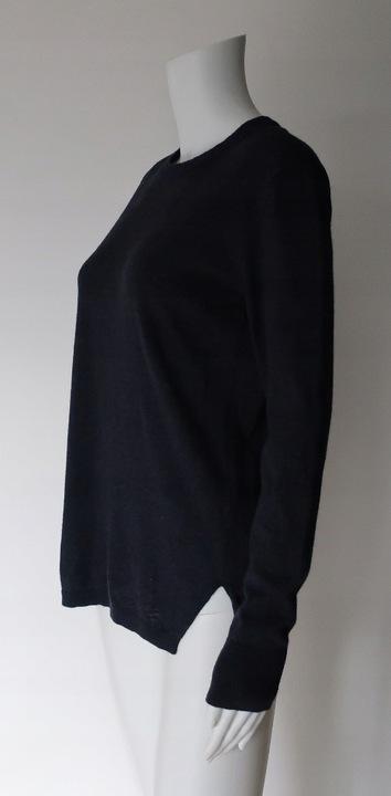 SELECTED FEMME M 38 GRANATOWY SWETER WEŁNIANY 9782830721 Odzież Damska Swetry IE RLCZIE-6