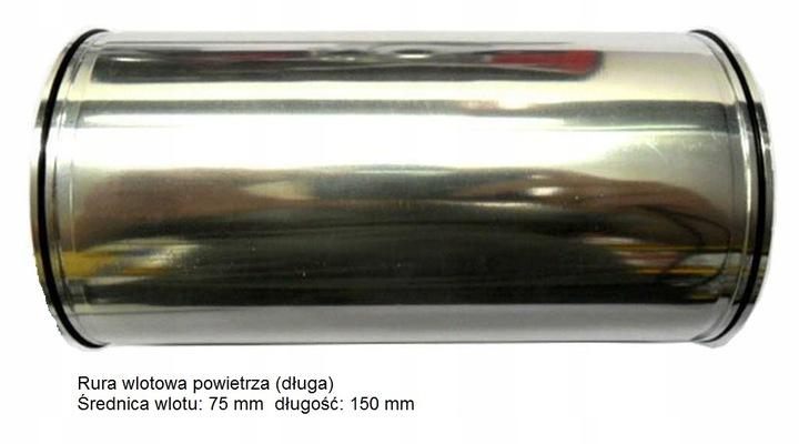Układ dolotowy regulowany alum+filtr stożkowy