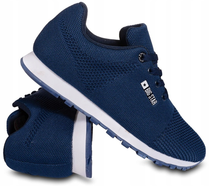 Sportowe buty sneakersy Big Star DD274263 granat www