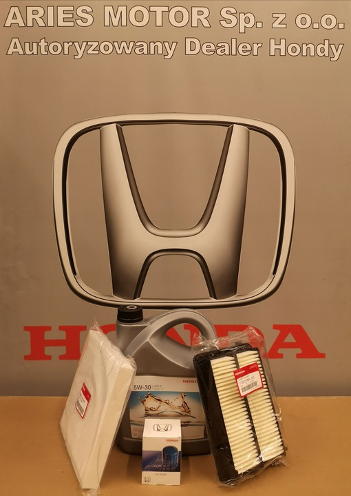 [Пакет обзорная с маслом 5W-30 Honda 4L из Польши]изображение