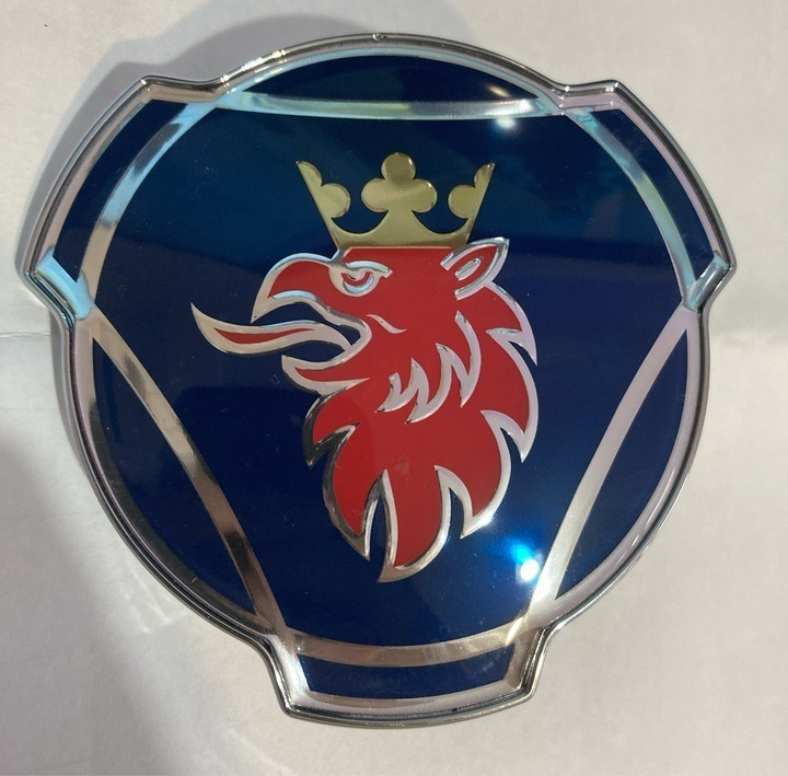 эмблема марку на маску гриф scania r