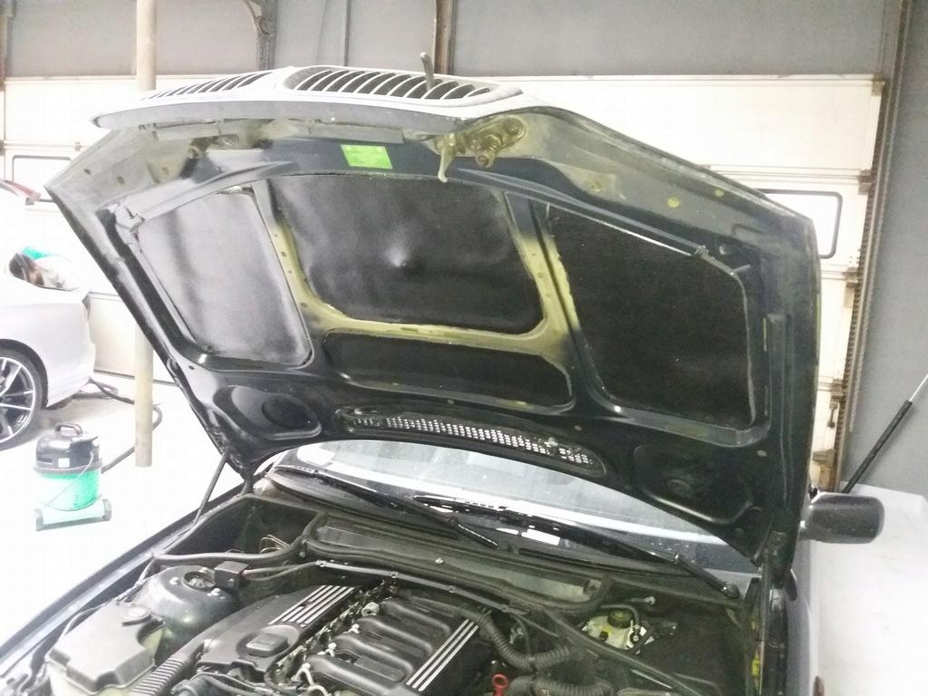 мат пенка обезшумка трудновоспламенимая капота двигателя, фото 13