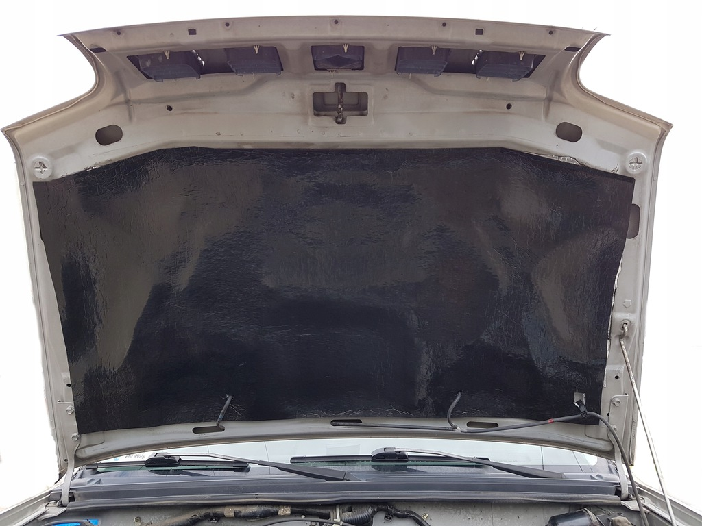 мат пенка обезшумка трудновоспламенимая капота двигателя, фото 1
