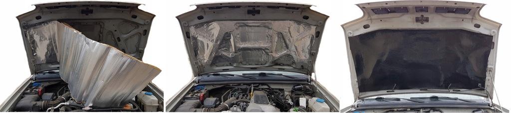 мат пенка обезшумка трудновоспламенимая капота двигателя, фото 3