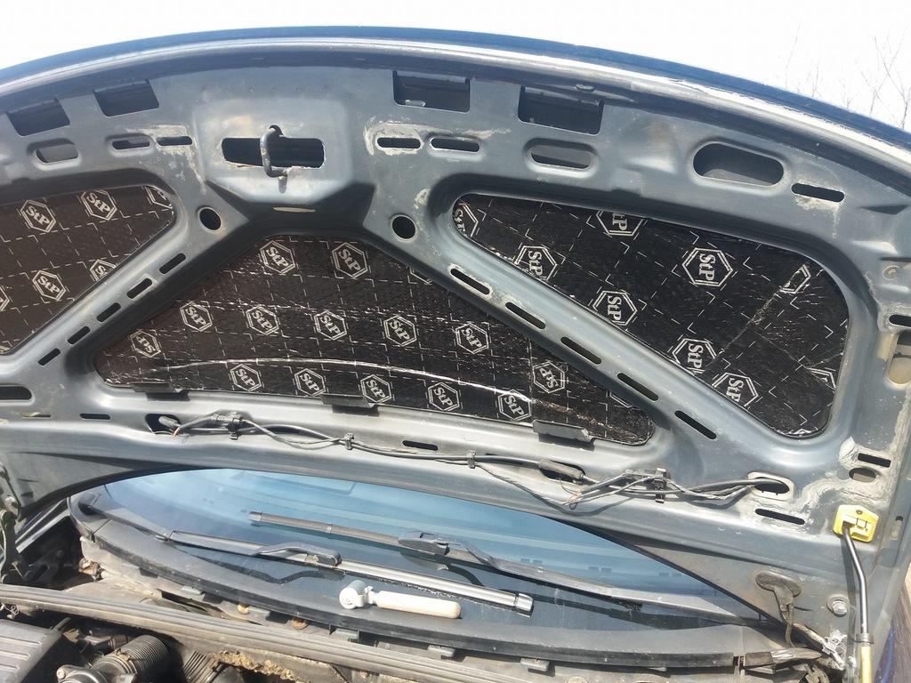 мат пенка обезшумка трудновоспламенимая капота двигателя, фото 12