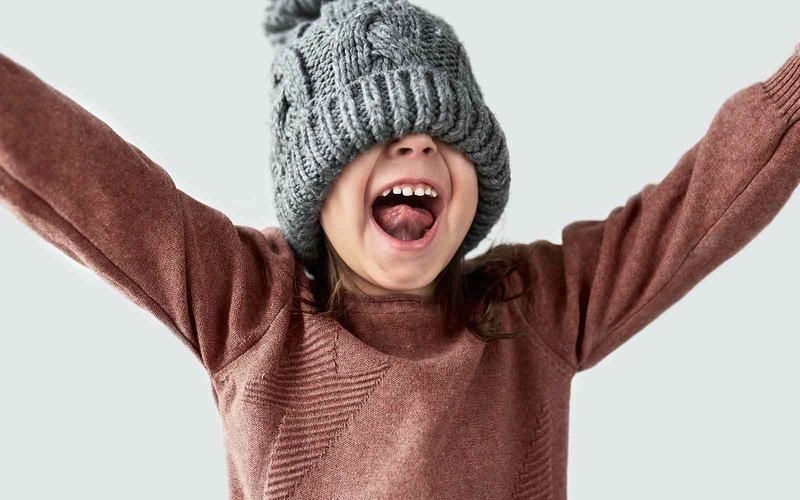 Sweter i czapka