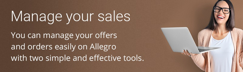 Manage your sales