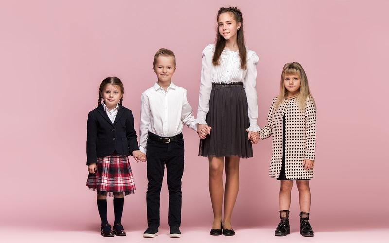 Grupka z dziewczynka